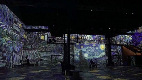 Vincent Van Gogh prend vie à l'Atelier des Lumières
