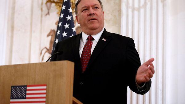 وزير الخارجية الأميركي خلال زيارة قام بها إلى وارسو