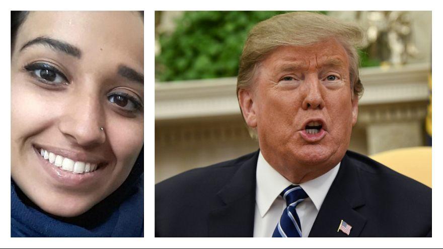 ترامپ در واکنش به درخواست بازگشت زن عضو داعش: هدی مثنی به کشور برنگردد