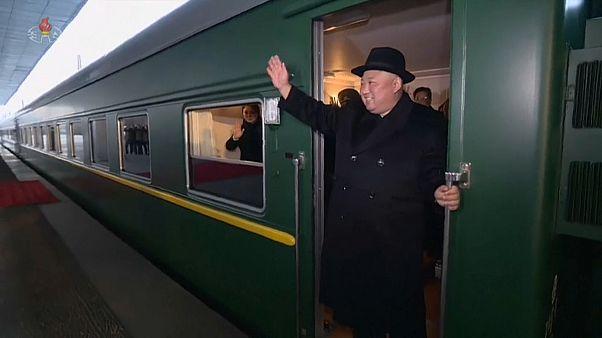 إعلام صيني: قطار كيم جونغ أون قد يكون بطيئاً جداً ليذهب به إلى فيتنام