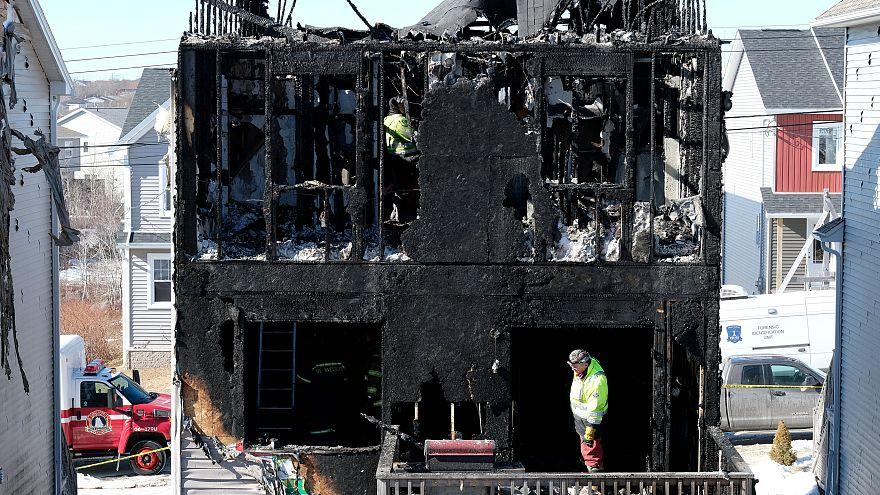 Halifax'ta yangın: Suriyeli 7 çocuk hayatını kaybetti