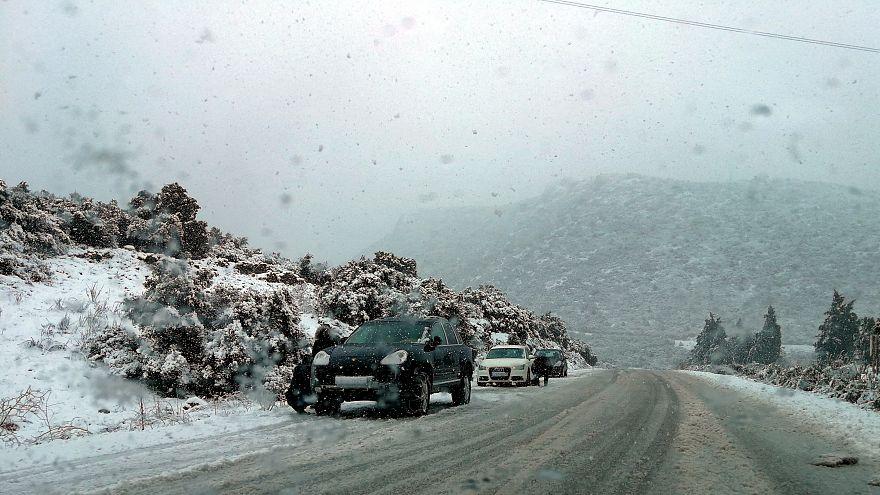 Ωκεανίς: Μεγάλη πτώση της θερμοκρασίας, ισχυροί άνεμοι και χιόνια