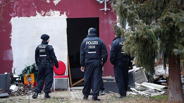 عناصر من الشرطة الألمانية في برلين (أرشيف)