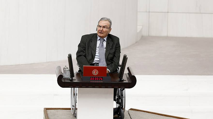 CHP Antalya Milletvekili Deniz Baykal Meclis'te yemin etti