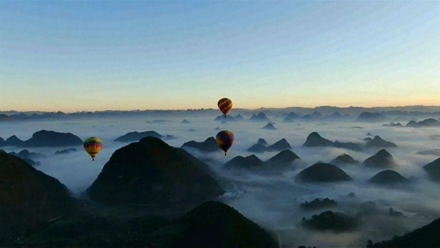 رحلة فوق الغيوم في الصين