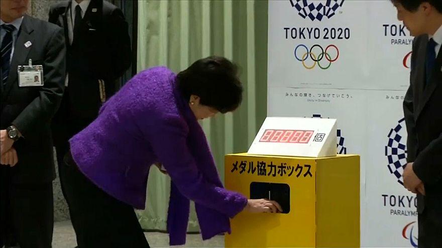 Tokyo 2020: medaglie realizzate con cellulari riciclati, raccolta quasi ultimata