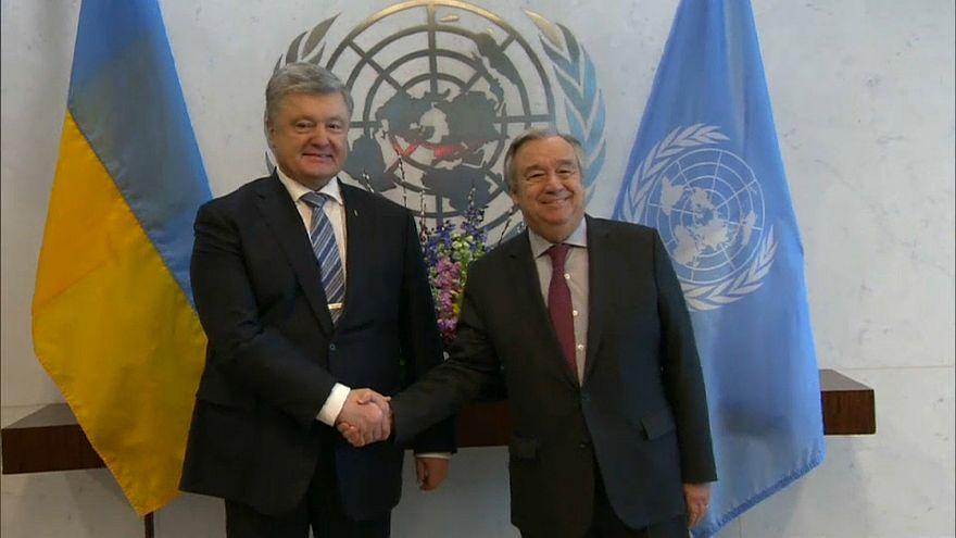 Ucrânia quer Rússia sem direito de veto na ONU