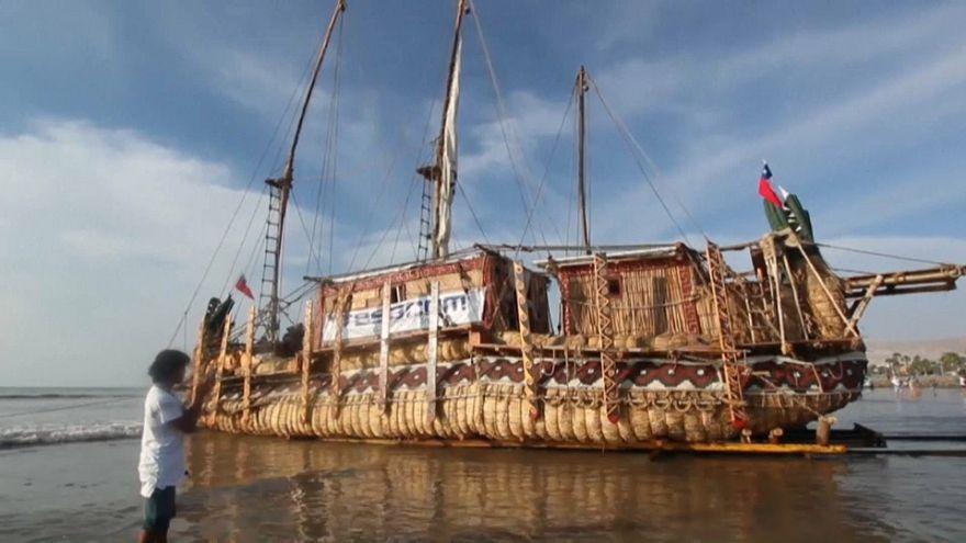 Von Chile nach Australien: Schilfrohrboot auf Mission