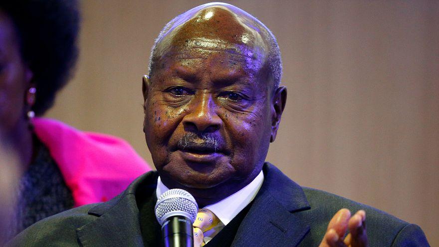 Uganda'nın 33 yıllık devlet başkanının yeniden aday olmasına tepki: Ömür boyu başkan kalmak istiyor