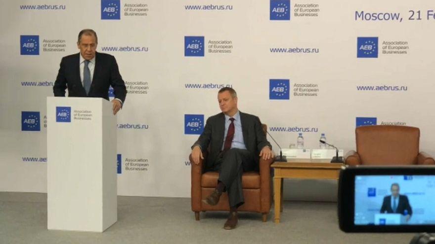 Rússia pede o fim das sanções da UE