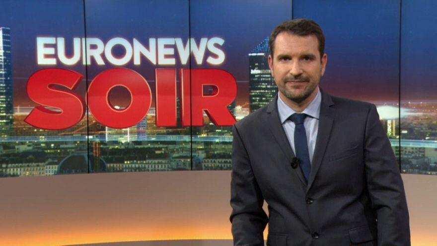 Euronews Soir : l'actualité du 21 février