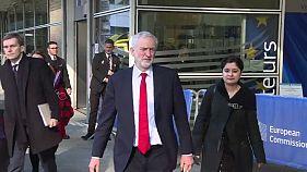 Jeremy Corbyn propõe união aduaneira entre UE e Reino Unido