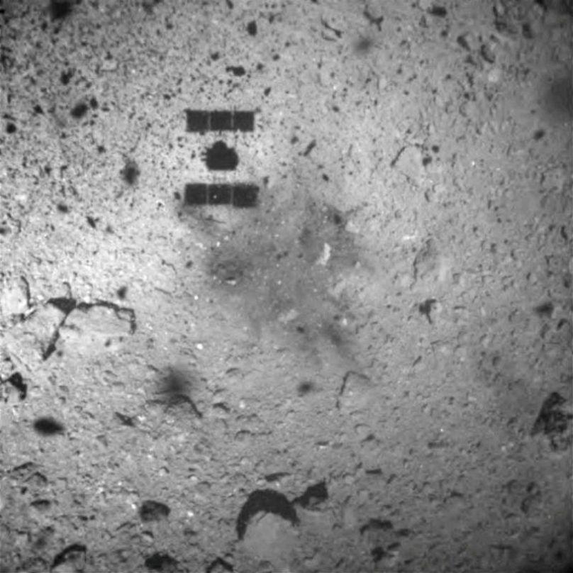Une sonde japonaise sur l'astéroïde Ryugu