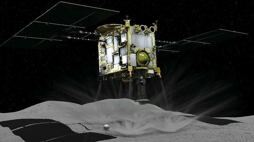 Mission réussie pour la sonde japonaise Hayabusa2 sur l'astéroïde Ryugu