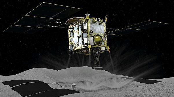 Το Hayabusa 2 «πάτησε» στον αστεροειδή Ριούγκου  - Οι πρώτες εικόνες