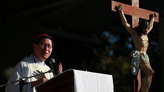 رئيس أساقفة الفلبين الكاردينال لويس تاغلي