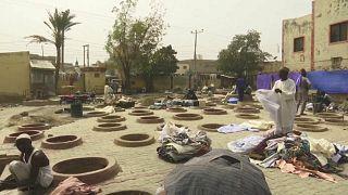 Many pits at Kofar Mata now appear to be abandoned