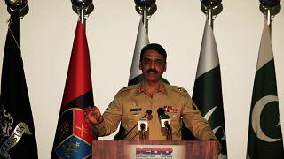 المتحدث الباكستاني الميجر جنرال آصف غفور