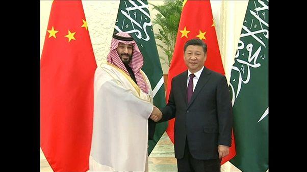 Riyad ve Pekin arasında toplam 28 milyar dolarlık 35 adet yatırım anlaşması imzalandı
