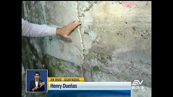 Földrengés volt Ecuadorban