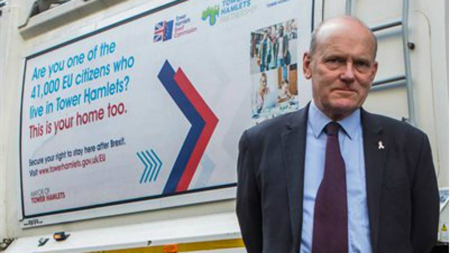 London council ridiculed for 'rubbish' Brexit reassurance message