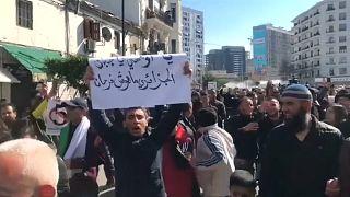 Протесты против пятого срока Бутефлики