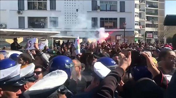 Tausende Algerier demonstrieren gegen Präsident Bouteflika (81)