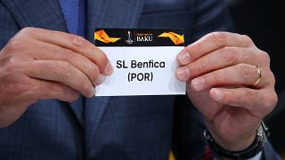 Benfica no sorteio da Liga Europa