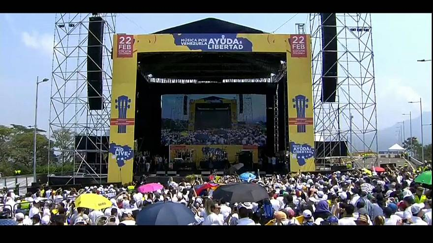 Venezuela: concerti contro alla frontiera
