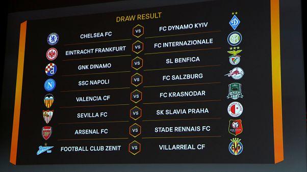 كرة القدم: دينامو كييف ورين الفرنسي في مهمة صعبة أمام تشيلسي وأرسنال في الدوري الأوروبي