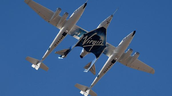 Virgin Galactic uzay turizmine bir adım daha yaklaştı: 15 dakikalık test uçuşu başarıyla tamamlandı