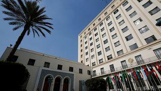 مقر جامعة الدول العربية في العاصمة المصرية القاهرة