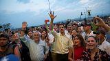 Guaidó besucht Benefizkonzert in Kolumbien - obwohl er Venezuela eigentlich nicht verlassen darf