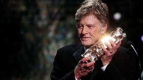 Actor Robert Redford during Cesar Awards Ceremony on February 22, 2019.