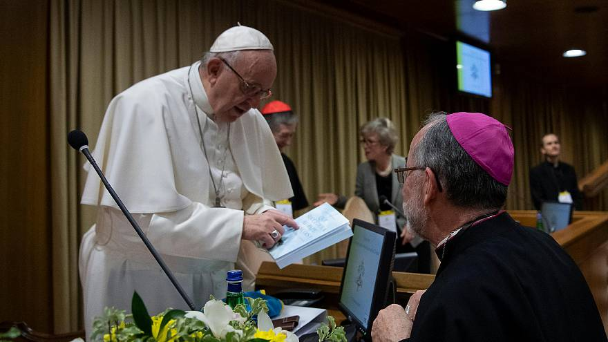 Pope Francis leads conference on sex abuse at Vatican