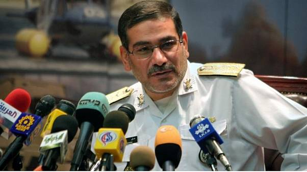 علي شامخاني الأمين العام لمجلس الأمن القومي الإيراني
