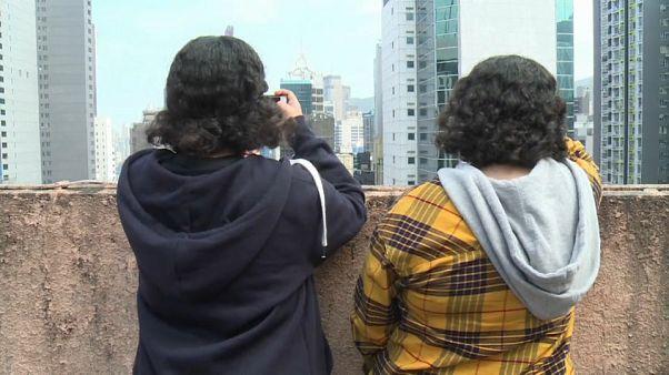 """السعوديتان """"ريم وروان"""" في هونغ كونغ"""