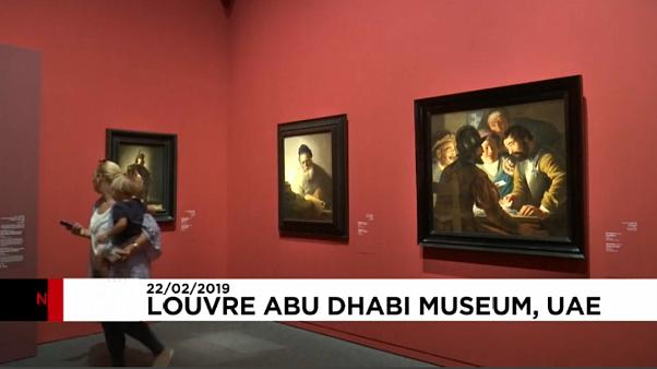 """شاهد: معرض للوحات """"العصر الذهبي الهولندي"""" في لوفر أبو ظبي"""