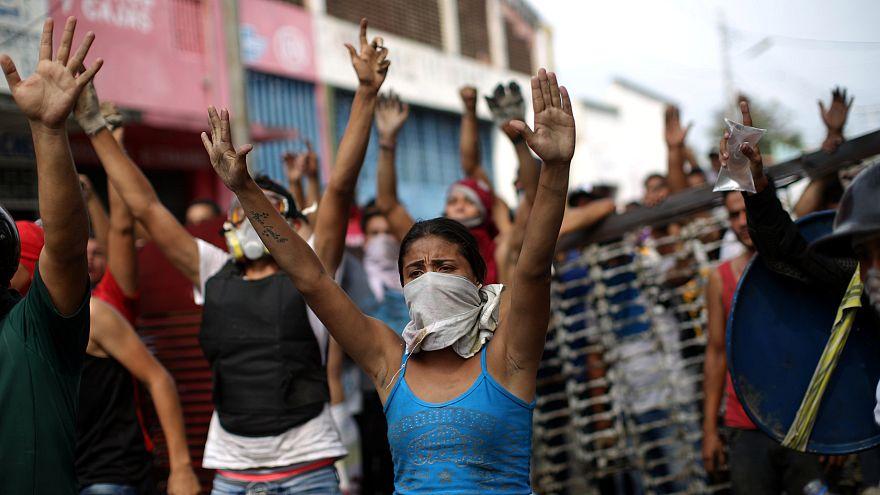 Gewalt an Venezuelas Grenze: Maduro bricht Beziehungen zu Kolumbien ab