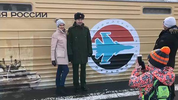 Propagandavonat szeli át Oroszországot