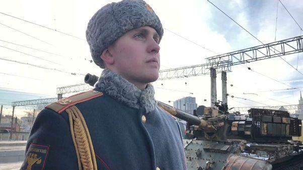 Ρωσικό τρένο γίνεται μουσείο με λάφυρα από τον πόλεμο στη Συρία