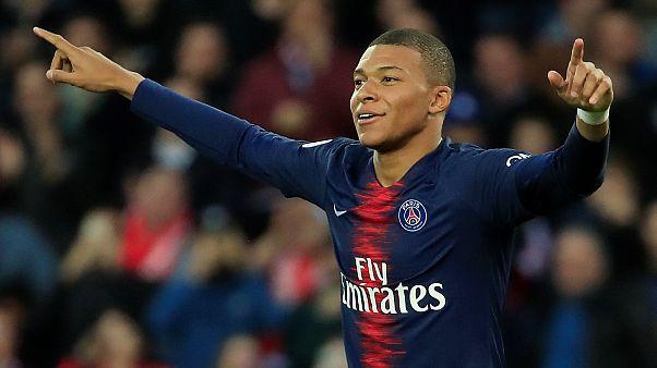 مبابي أصغر لاعب يصل إلى 50 هدفا في دوري الدرجة الأولى الفرنسي لكرة القدم