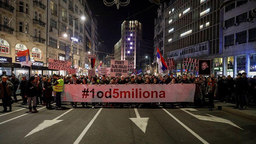 Belgrad: 12. Massendemonstration in Folge