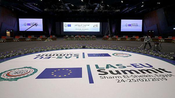برگزاری نشست کشورهای عربی-اروپایی در شرمالشیخ