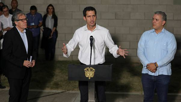 Guaido: Venezuela'nın özgürlüğü için tüm seçeneklerin gözden geçirilmesini teklif edeceğim