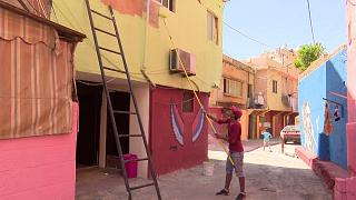 Artists and locals make-over Beirut suburb of Ouzai