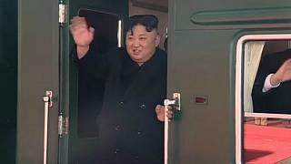 ویدیوی بدرقه کیم جونگ اون؛ قطار رهبر کره شمالی درمسیر ویتنام