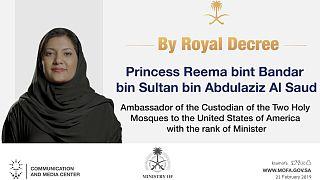 Saudi Arabia appoints Princess Reema as ambassador to the US.