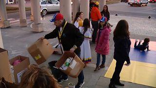 Venezuela : les Portugais se mobilisent pour acheminer de l'aide humanitaire