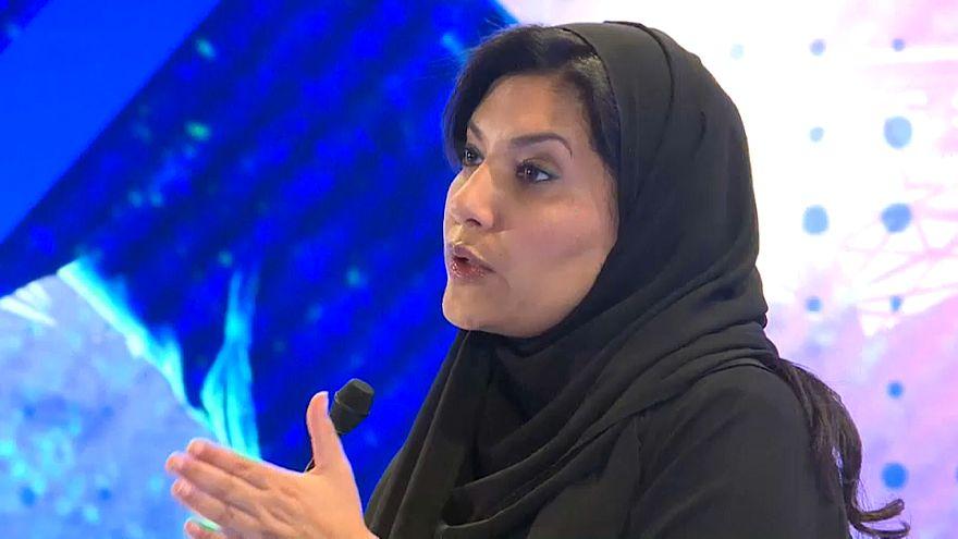 Frau (!) auf saudischem Botschaftersessel in Washington
